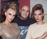 תסרוקות ואיפור ערב 2015